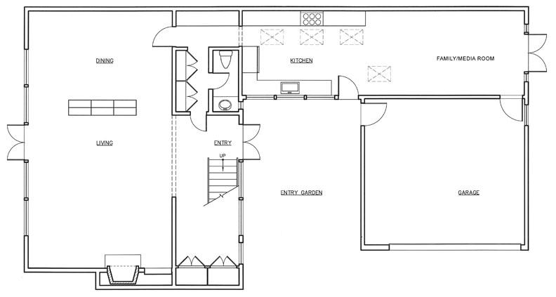 Esherick house floor plan - House and home design